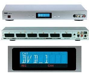 Thor AV Control Centre AVC-100 SCART switch gallery
